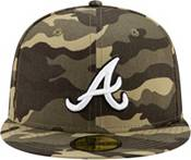 New Era Men's Atlanta Braves Camo Armed Forces 59Fifty Fitted Hat product image