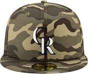 New Era Men's Colorado Rockies Camo Armed Forces 59Fifty Fitted Hat product image