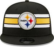 New Era Men's Pittsburgh Steelers Black 9Fifty Strike Adjustable Hat product image