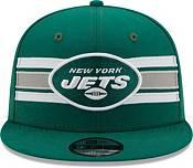 New Era Men's New York Jets Green 9Fifty Strike Adjustable Hat product image