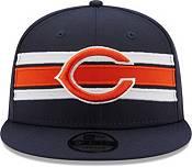New Era Men's Chicago Bears Navy 9Fifty Strike Adjustable Hat product image