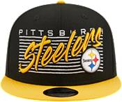 New Era Men's Pittsburgh Steelers  9Fifty Adjustable Black Hat product image