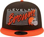 New Era Men's Cleveland Browns  9Fifty Adjustable Dark Brown Hat product image