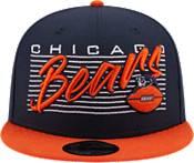 New Era Men's Chicago Bears  9Fifty Adjustable Orange Hat product image