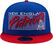New Era Men's New England Patriots  9Fifty Adjustable Dark Blue Hat product image