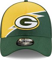 New Era Men's Green Bay Packers Green 39Thirty Bolt Fitted Hat product image