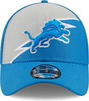 New Era Men's Detroit Lions Blue 39Thirty Bolt Fitted Hat product image