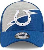 New Era Men's Indianapolis Colts Blue 39Thirty Bolt Fitted Hat product image