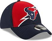New Era Men's Houston Texans Navy 39Thirty Bolt Fitted Hat product image