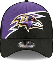 New Era Men's Baltimore Ravens Black 39Thirty Bolt Fitted Hat product image