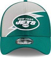 New Era Men's New York Jets Green 39Thirty Bolt Fitted Hat product image