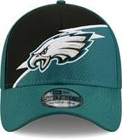 New Era Men's Philadelphia Eagles Green 39Thirty Bolt Fitted Hat product image