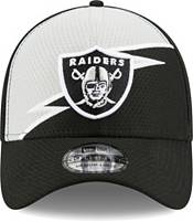 New Era Men's Las Vegas Raiders Black 39Thirty Bolt Fitted Hat product image
