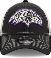 New Era Men's Baltimore Ravens Black 9Forty Rugged Adjustable Hat product image