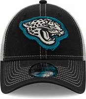 New Era Men's Jacksonville Jaguars Black 9Forty Rugged Adjustable Hat product image