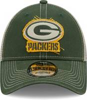 New Era Men's Green Bay Packers Green 9Forty Rugged Adjustable Hat product image