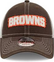 New Era Men's Cleveland Browns Brown 9Forty Rugged Adjustable Hat product image