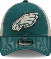 New Era Men's Philadelphia Eagles Green 9Forty Rugged Adjustable Hat product image