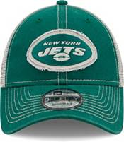 New Era Men's New York Jets Green 9Forty Rugged Adjustable Hat product image