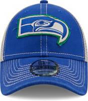 New Era Men's Seattle Seahawks Navy 9Forty Rugged Adjustable Hat product image