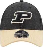 New Era Men's Purdue BoilermakersLeague 9Forty Adjustable  Black Hat product image