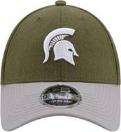 New Era Men's Michigan State Spartans Green League 9Forty Adjustable Hat product image