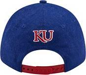 New Era Men's Kansas Jayhawks Blue League 9Forty Adjustable Hat product image
