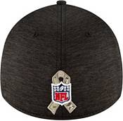 New Era Men's Salute to Service Detroit Lions 39Thirty Stretch Fit Black Hat product image