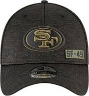New Era Men's Salute to Service San Francisco 49ers 39Thirty Stretch Fit Black Hat product image