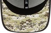 New Era Men's Salute to Service Minnesota Vikings 39Thirty Stretch Fit Black Hat product image
