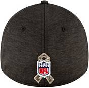 New Era Men's Salute to Service Philadelphia Eagles 39Thirty Stretch Fit Black Hat product image