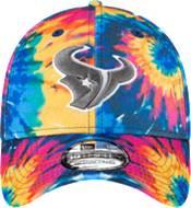 New Era Men's Houston Texans Sideline Crucial Catch 39Thirty Tye Dye Stretch Fit Hat product image