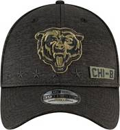 New Era Men's Salute to Service Chicago Bears 39Thirty Stretch Fit Black Hat product image