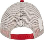 New Era Men's San Francisco 49ers Flag 9Twenty Red Trucker Hat product image