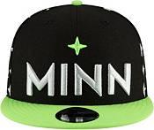 New Era Youth 2020-21 City Edition Minnesota Timberwolves 9Fifty Adjustable Snapback Hat product image