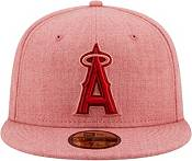New Era Men's Los Angeles Angels 59Fifty Red Heather Classic Fitted Hat product image