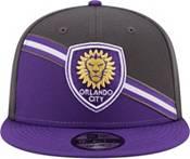 New Era Men's Orlando City 9Fifty Blue/Grey Adjustable Hat product image