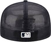 New Era Men's New York Yankees 59Fifty Navy Classic Trucker Fitted Hat product image