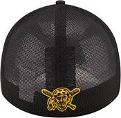 New Era Youth Pittsburgh Pirates Black 39Thirty Stretch Fit Hat product image