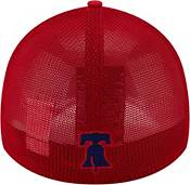New Era Youth Philadelphia Phillies Red 39Thirty Stretch Fit Hat product image
