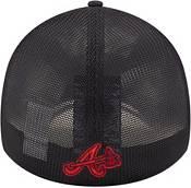 New Era Youth Atlanta Braves Navy 39Thirty Stretch Fit Hat product image