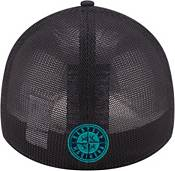 New Era Youth Seattle Mariners Navy 39Thirty Stretch Fit Hat product image