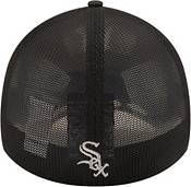 New Era Youth Chicago White Sox Black 39Thirty Stretch Fit Hat product image