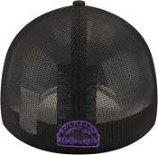 New Era Youth Colorado Rockies Black 39Thirty Stretch Fit Hat product image
