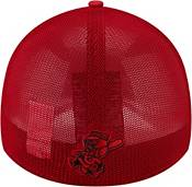 New Era Youth Cincinnati Reds Black 39Thirty Stretch Fit Hat product image