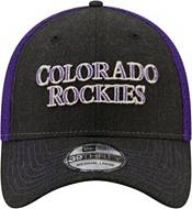 New Era Men's Colorado Rockies Black 39Thirty Heathered Stretch Fit Hat product image