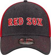 New Era Men's Boston Red Sox Navy 39Thirty Heathered Stretch Fit Hat product image