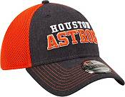 New Era Men's Houston Astros Navy 39Thirty Heathered Stretch Fit Hat product image