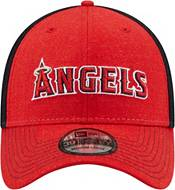 New Era Men's Los Angeles Angels Red 39Thirty Heathered Stretch Fit Hat product image