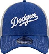 New Era Men's Los Angeles Dodgers Blue 39Thirty Heathered Stretch Fit Hat product image